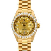Rolex Day-Date Presidential, Ref#1803,  Yellow Gold, Diamond...