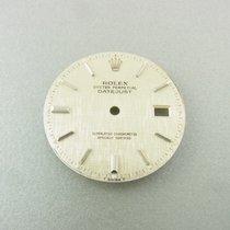 Rolex Datejust 36 Mm Silber Leinen Zifferblatt Silver Linen...