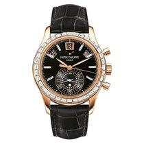 百達翡麗 Annual Calendar Chronograph Rose Gold Diamonds Watch