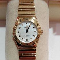 Omega Constellation Yellow gold 25.5mmmm Mother of pearl