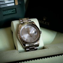 Rolex Day-Date II / President II - White Gold, Silver Dial,...