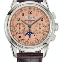Patek Philippe Perpetual Calendar Chronograph 5270P-001 New Platinum Manual winding