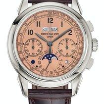 Patek Philippe 5270P-001 Platin Perpetual Calendar Chronograph neu