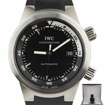 IWC Aquatimer Automatic Steel 42mm Black United States of America, New York, Lynbrook