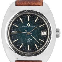 Eterna Steel 38mm Automatic Matic pre-owned