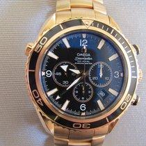 Omega Seamaster Planet Ocean Chronograph Red gold 45.5mm UAE, dubai
