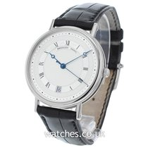 Breguet White gold Automatic Roman numerals 35.5mm pre-owned Classique