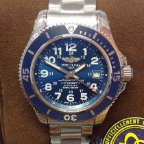 Breitling Superocean II 42 Steel 42mm Blue Arabic numerals United Kingdom, Wilmslow