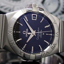 Omega Constellation Men Steel 38mm Black No numerals India, Mumbai