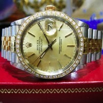 Rolex Datejust Staal 36mm Goud