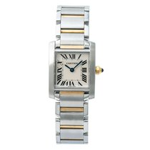 Cartier Tank Française Steel 20mm White Roman numerals United States of America, New York, New York