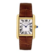Cartier Tank Louis Cartier Yellow gold 29.5mm Silver