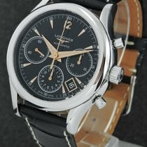 Longines Column-Wheel Chronograph new 2019 Automatic Chronograph Watch with original box and original papers L2.750.4.56.0