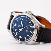 IWC Pilot Mark Steel 40mm Black Arabic numerals United States of America, New Jersey, Oradell