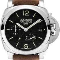 Panerai Luminor 1950 3 Days GMT Power Reserve Automatic PAM 00537 pre-owned