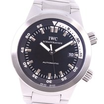 IWC Aquatimer Automatic pre-owned 42mm Black