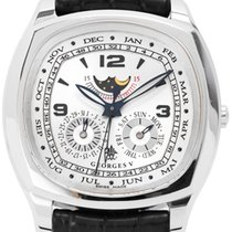 Georges V Or blanc 44mm Remontage automatique V3015 occasion