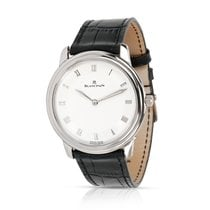 Blancpain Villeret Ultra-Slim pre-owned 35mm White Leather
