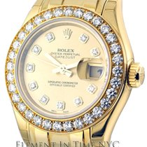 Rolex Datejust Masterpiece 18k YG Diamond Dial & Bezel