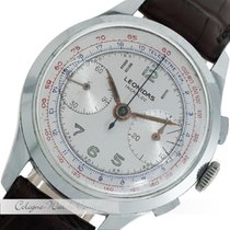 Leonidas Chronograph Vintage Stahl