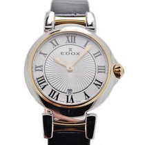Edox Women's watch Les Bémonts 29mm Quartz new Watch with original box and original papers