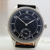 IWC Portuguese Hand-Wound Steel 44mm Black Arabic numerals United States of America, Florida, Boca Raton