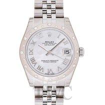 Rolex Datejust Lady 31 White MOP 18k White Gold/Steel 31mm -...