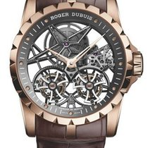 Roger Dubuis Excalibur Double Tourbillon Pink NEW 40% off