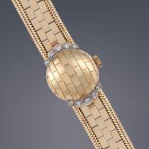 Rolex Ladies 18ct yellow gold and diamond Precision Manual...