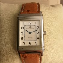 Jaeger-LeCoultre Reverso Classique Staal 40mm Wit Arabisch