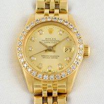 勞力士 (Rolex) -Oyster Perpetual Yellow Gold – 18K Diamonds -...