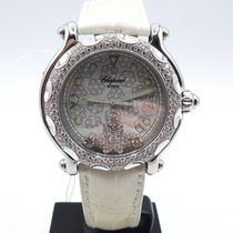 Chopard Happy Sport Snowflake White gold and steel