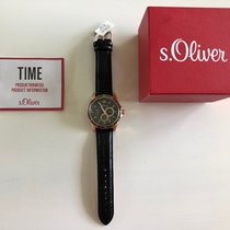 S.Oliver Steel 42mm Quartz SO-2845 new
