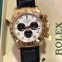 Rolex Daytona 116518 Ubrugt Gult guld 40mm Automatisk