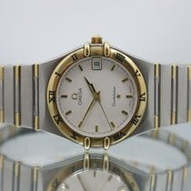 Omega Constellation (Submodel) pre-owned 33.5mm Gold/Steel