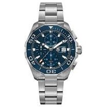 TAG Heuer Aquaracer 300M new 2018 Automatic Chronograph Watch with original box and original papers CAY211B.BA0927