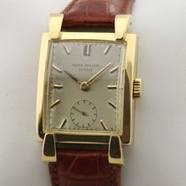 Patek Philippe Vintage 2427 Vintage Oversize Rare Very good Yellow gold 26,5mm Manual winding
