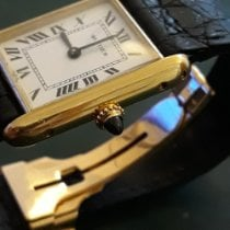 Cartier Tank (submodel) Yellow gold 23mm White Roman numerals