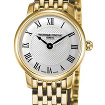 Frederique Constant Slimline Mini Gold/Steel Silver United States of America, New York, Brooklyn