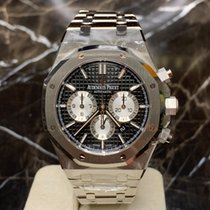 Audemars Piguet Royal Oak Chronograph Stahl 41mm Schwarz Keine Ziffern Deutschland, Köln