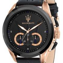Maserati Gold/Steel 45mm Quartz R8871612025 new