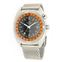 Glycine Steel 43mm Automatic Airman pre-owned United States of America, Virginia, Vienna