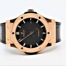 Hublot Classic Fusion 45, 42, 38, 33 mm Rose gold 42mm Black No numerals