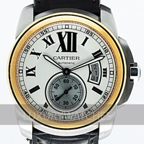 Cartier Calibre de Cartier Acero y oro 42mm