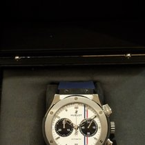 Hublot Steel Manual winding White pre-owned Classic Fusion Chronograph