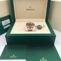Rolex new Automatic 40mm Rose gold Sapphire Glass
