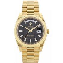 Rolex Day-Date 40 neu Automatik Uhr mit Original-Box und Original-Papieren 40 228238