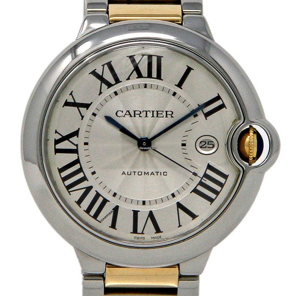 Cartier Ballon Bleu 42mm W69009Z3 2014 подержанные