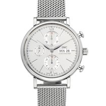 IWC Portofino Chronograph Steel 42mm Silver No numerals United States of America, New York, New York