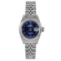 Rolex ladies 69174 Datejust - Blue Roman Numeral Dial